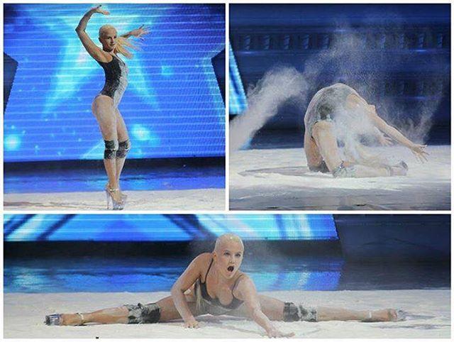Казахстанка поразила зрителей своим выступлением на шоу талантов в Грузии 1