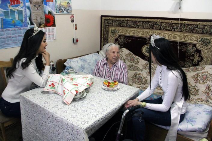 обслуживание инвалидов и престарелых в домах-интернатах