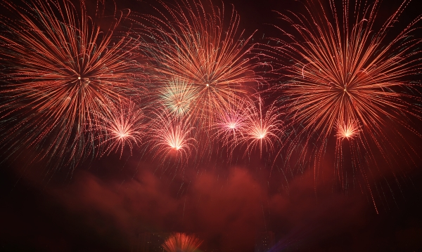 Казахстанцы заняли первое место на международном фестивале фейерверков