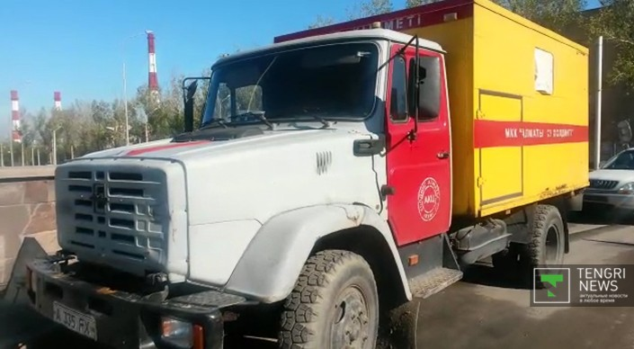 Инцидент произошел ночью 19 октября. По информации аварийных служб, на перекрестке улиц Саина и Торайгырова