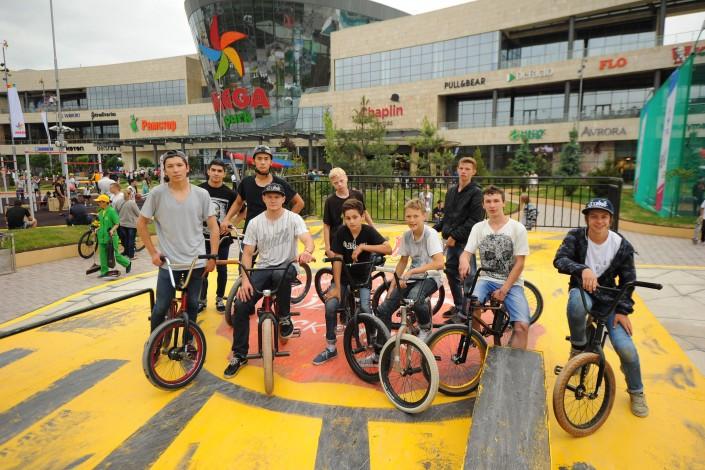 В день открытия спортивный парк в Алматы посетили 25 тысяч человек