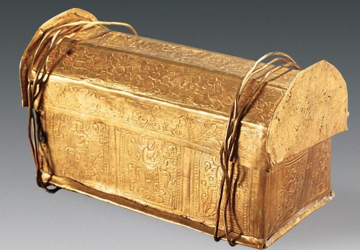 В Китае нашли кость Будды в золотом ларце