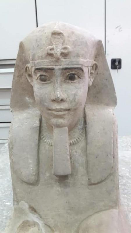 В Египте нашли еще одного древнего сфинкса