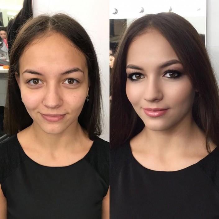 фото работ визажистов до и после