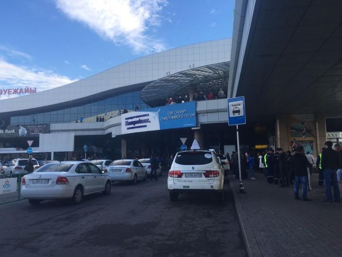 Аэропорт Алма-Аты эвакуировали из-за разлившейся ртути