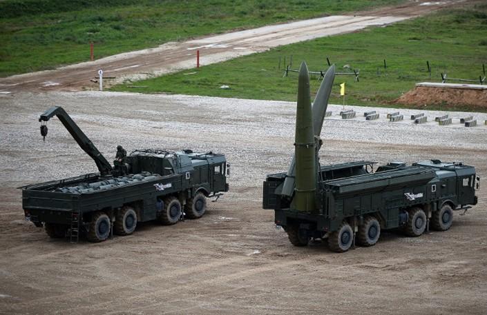 Научениях «Запад-2017» проведён запуск ракеты комплекса «Искандер-М»