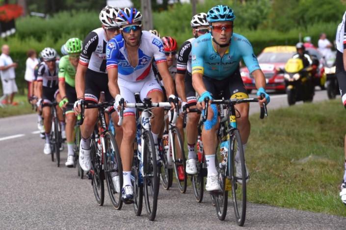 """Велокоманда """"Астана"""" на """"Тур де Франс"""". Самые запоминающиеся моменты"""