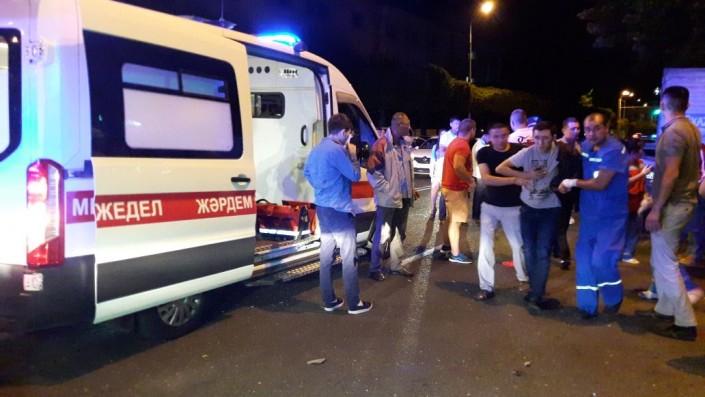 Семь человек пострадали вДТП натрассе Алматы-Капшагай