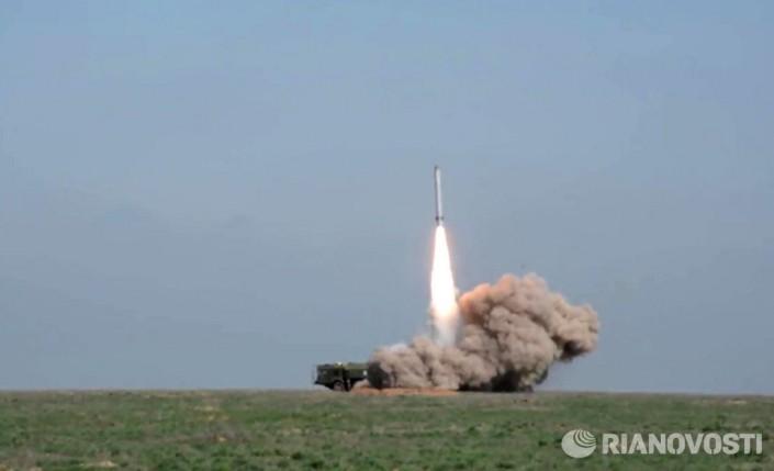 Ракета комплекса «Искандер-М» благополучно поразила цель намаксимальной дальности