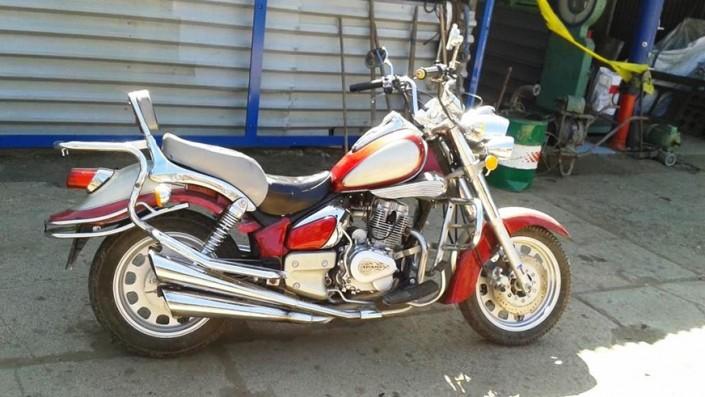 Полицейские списали свои мотоциклы. Их можно купить за 79 тысяч тенге