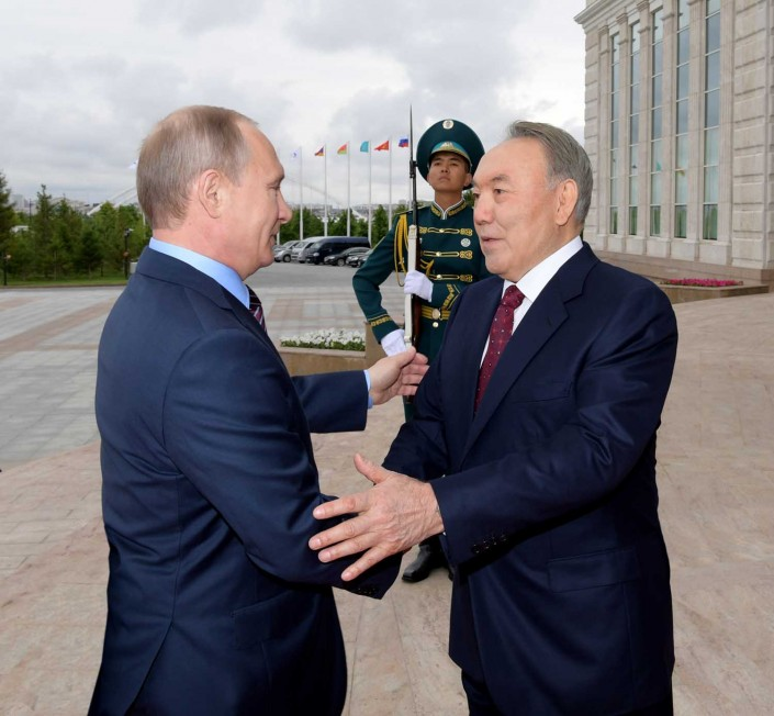 Россия для Казахстана всегда будет самым близким соседом и другом - Назарбаев