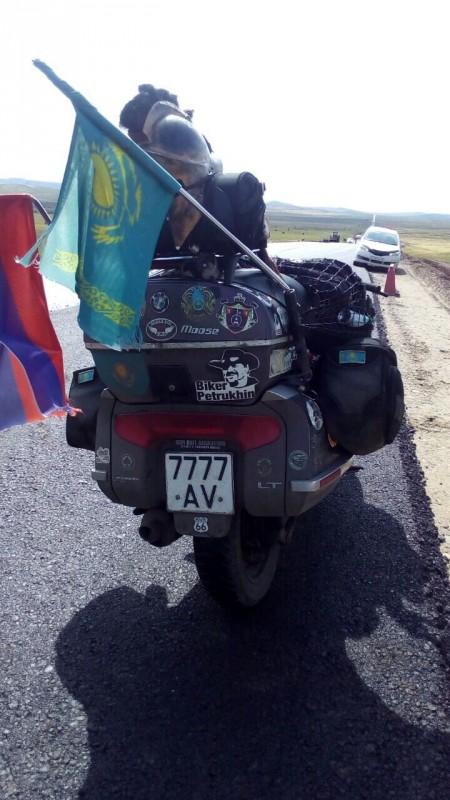 Казахстанский байкер Дмитрий Петрухин попал в больницу в России