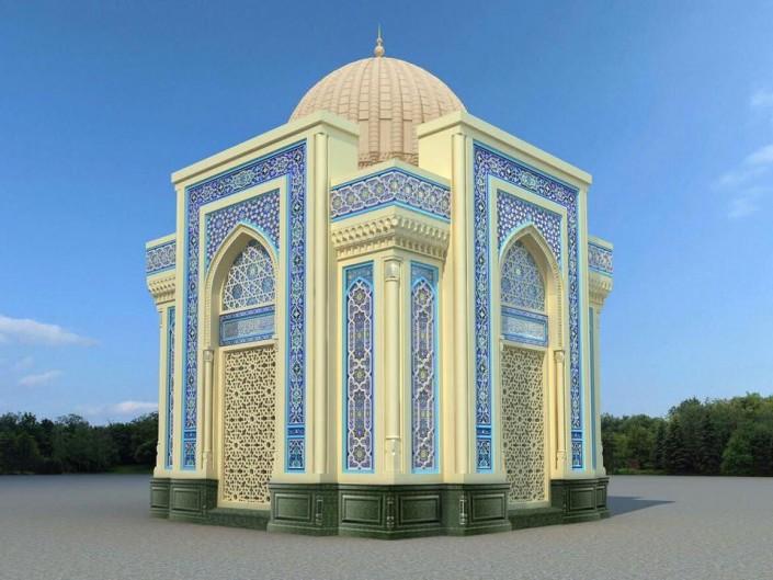 Проект мавзолея Ислама Каримова в Самарканде показала его дочь