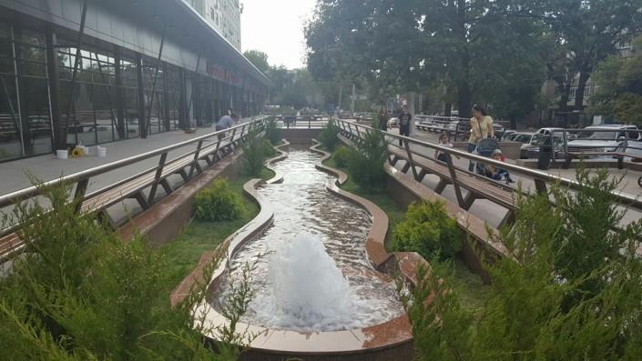 """Как выглядит территория перед """"Юбилейным"""" в Алматы после реконструкции. ФОТО, фото-2"""