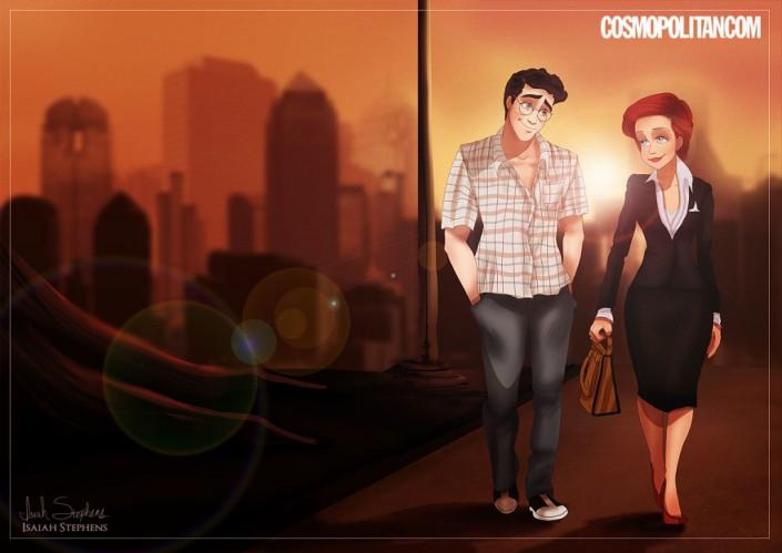 Мультфильм с персонажем секси