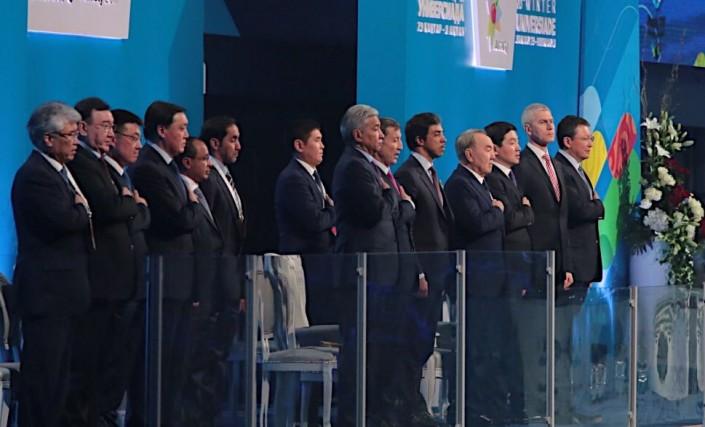 ВАлматы прошла грандиозная церемония открытия Универсиады