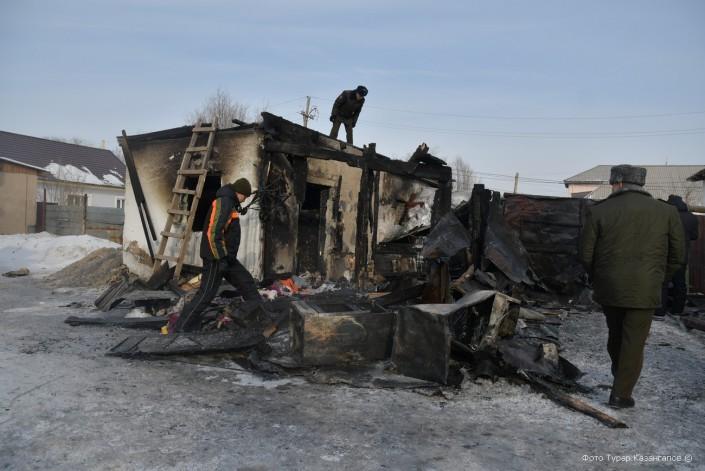 Гибель пяти детей в пожаре в Астане: как произошла трагедия