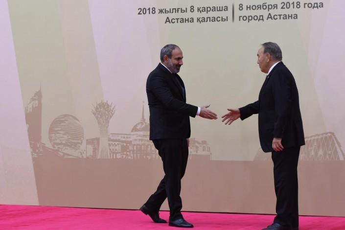 Президенты в Астане: Назарбаев открыл сессию ОДКБ