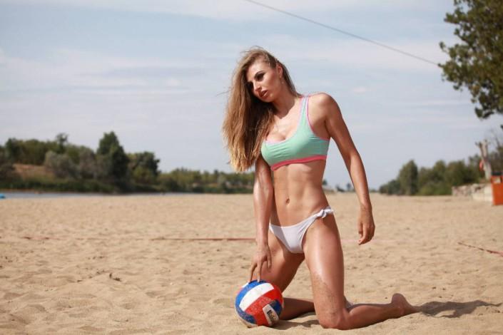 Секси девушка спортсменка