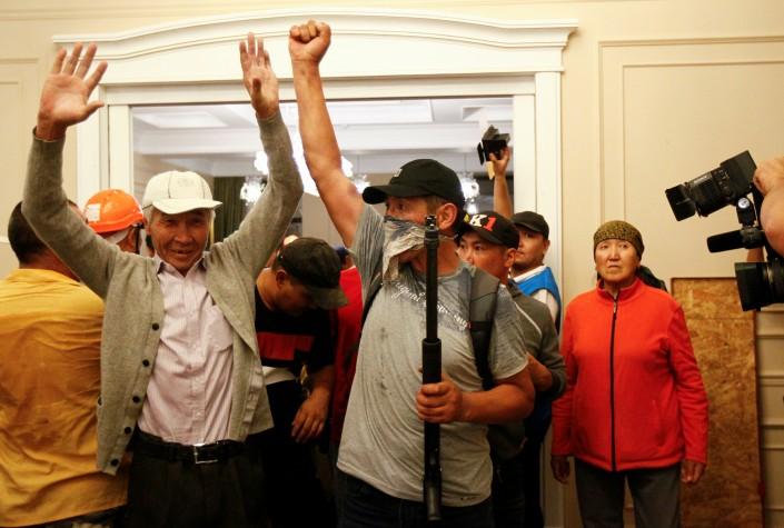 Атамбаев отстреливался во время попытки задержания