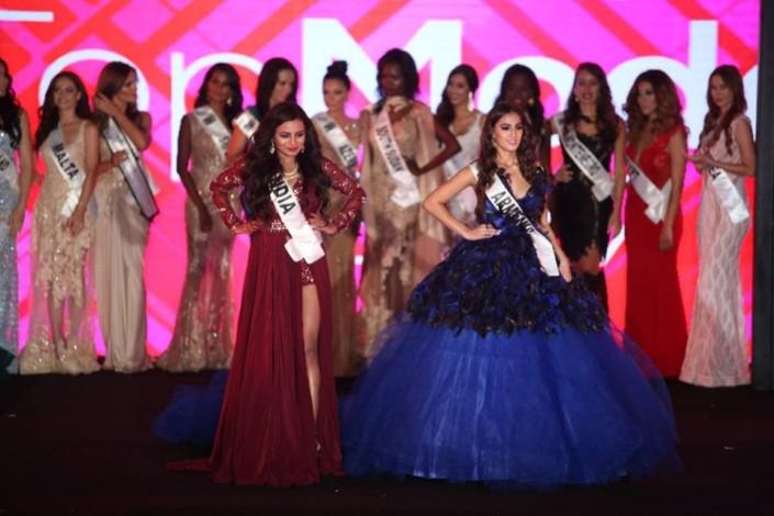 Модель от Кыргызстана вышла с лентой Армении на конкурсе красоты: разразился скандал