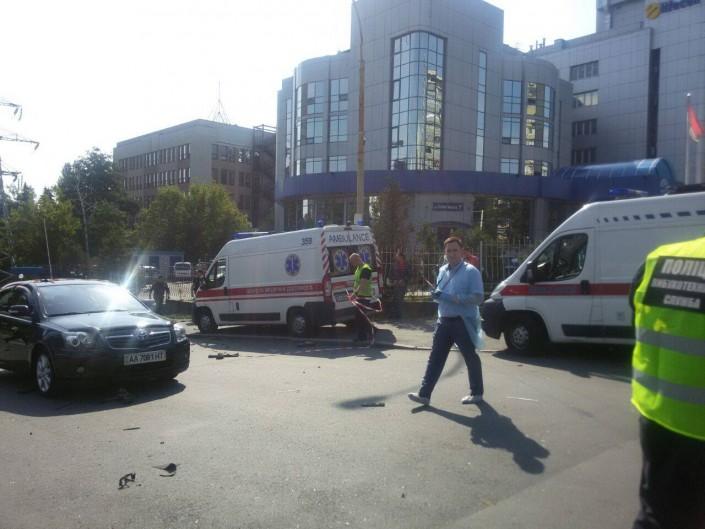 В Киеве взорвался заминированный автомобиль: погиб мужчина