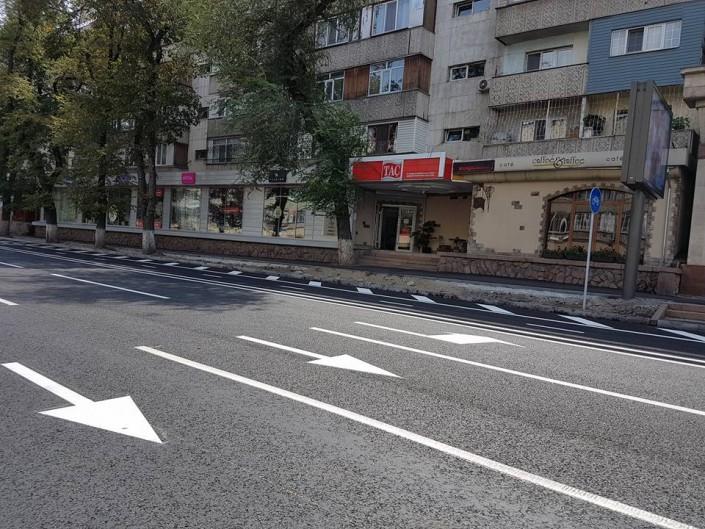 В акимате Алматы объяснили, почему улица Шевченко стала односторонней раньше срока
