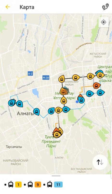Схема маршрута транспортного средства фото 160