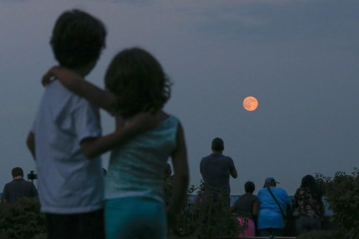 Сегодня ночью белорусы смогут наблюдать затмение Луны