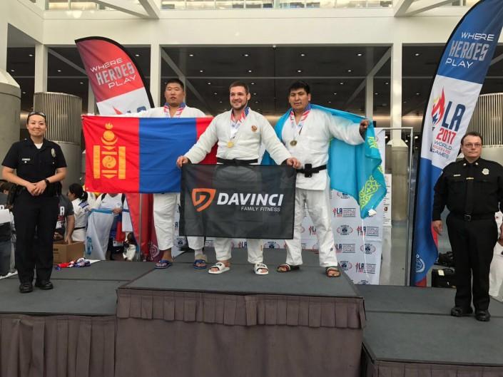 Казахстанец завоевал серебряную медаль на Всемирных играх среди полицейских в США