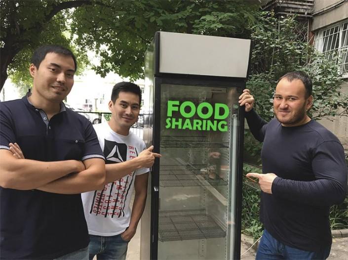Холодильники с бесплатной едой появятся в Алматы