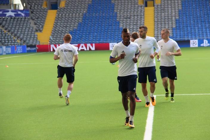 7 мячей матча «Астана»— «Селтик», нормальных группового этапа Лиги чемпионов