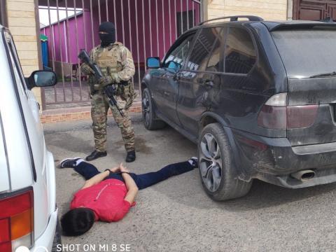 Спецоперация КНБ в Шымкенте: задержаны члены ОПГ