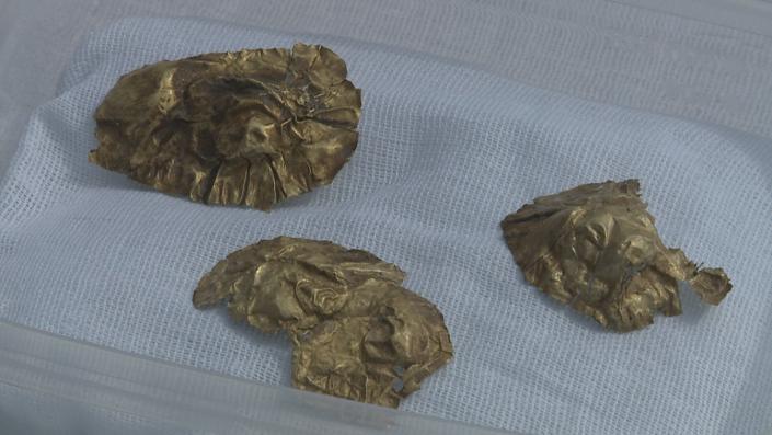 Мумию в золотых сапогах нашли археологи в ВКО