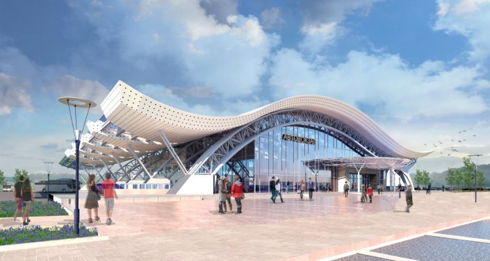 В Алматы показали эскизные проекты новой станции метро в Калкамане