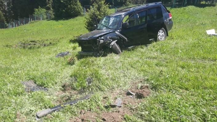 Джип сорвался с дороги на БАО: Есть пострадавшие