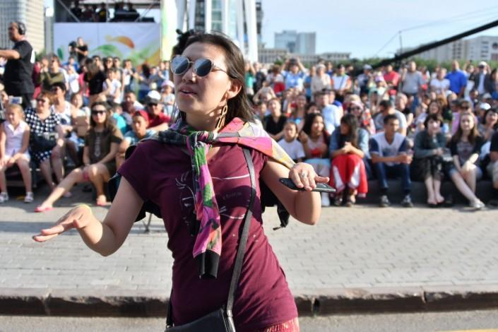 Главное, чтобы душа пела. Инна Желанная поразила гостей The Spirit of Astana