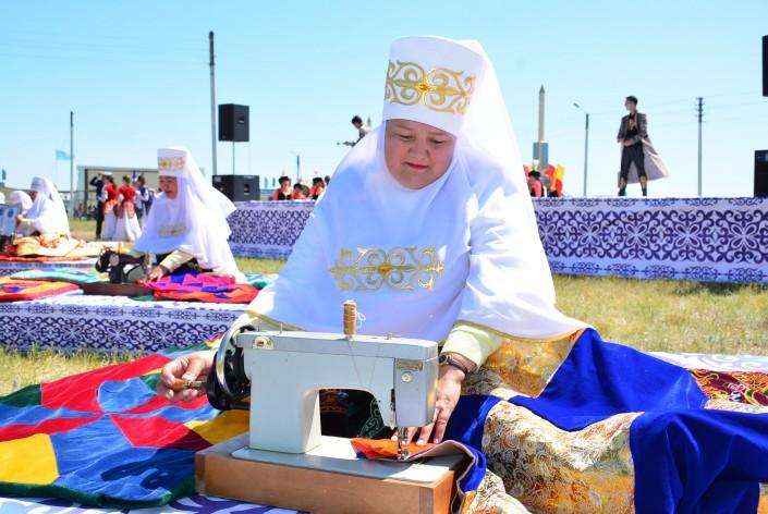 Сразу 2 мировых рекорда установлены в Кокшетау на юбилей города