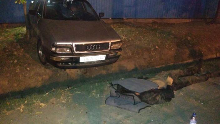 ВАлматы иностранная машина сбила 2-х пешеходов, один умер наместе