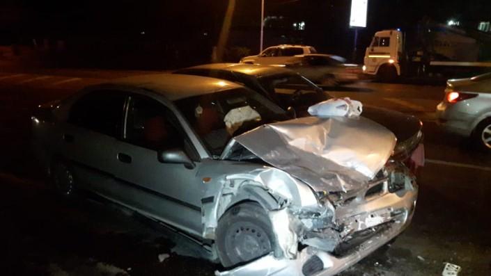 Пьяный водитель устроил массовое ДТП в Алматы