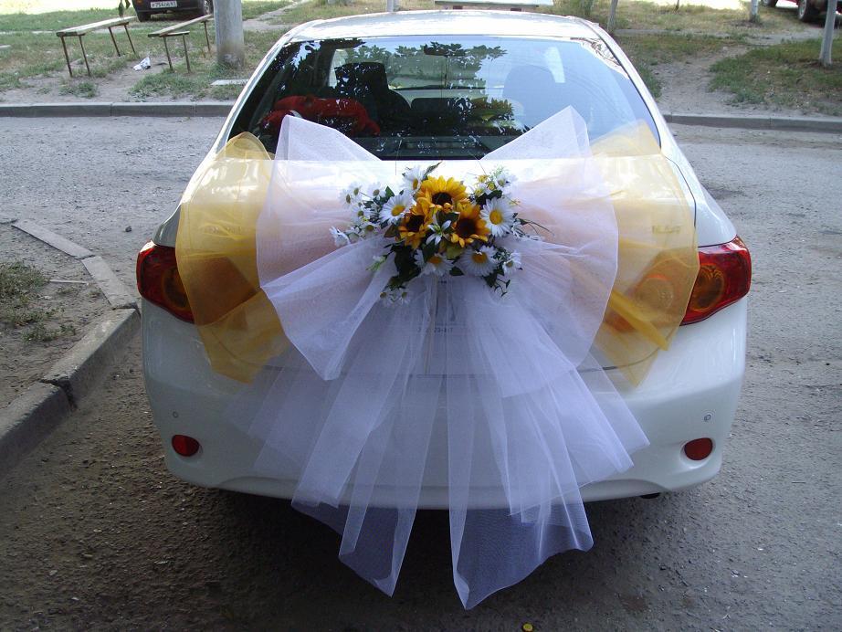 Как сделать украшение свадебных машин своими руками