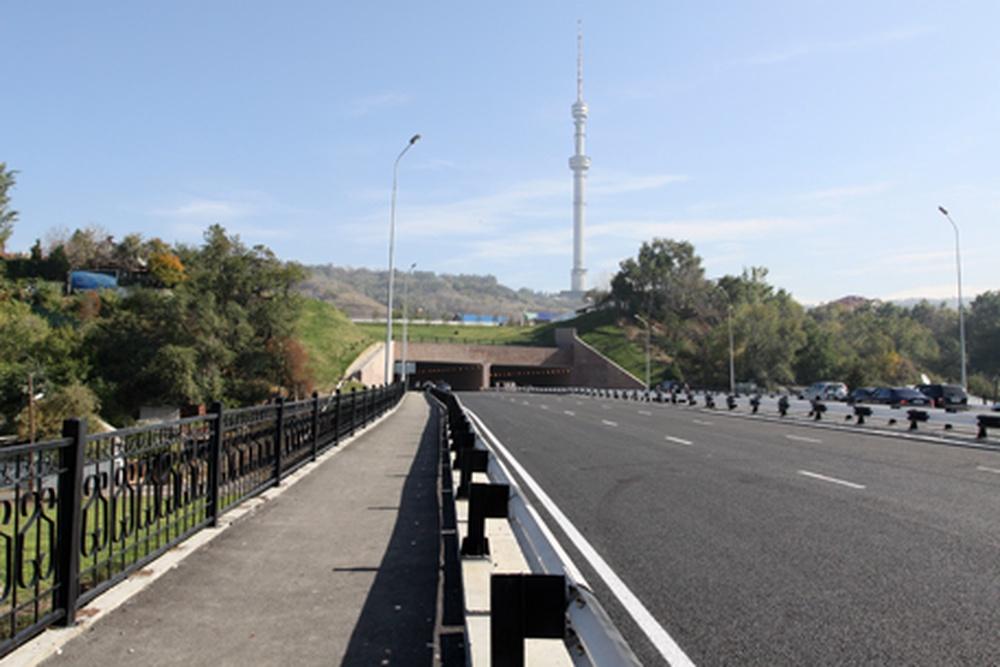 В городе Алматы открылось движение по Восточной объездной автодороге от проспекта Аль-Фараби (угол проспекта Достык)...