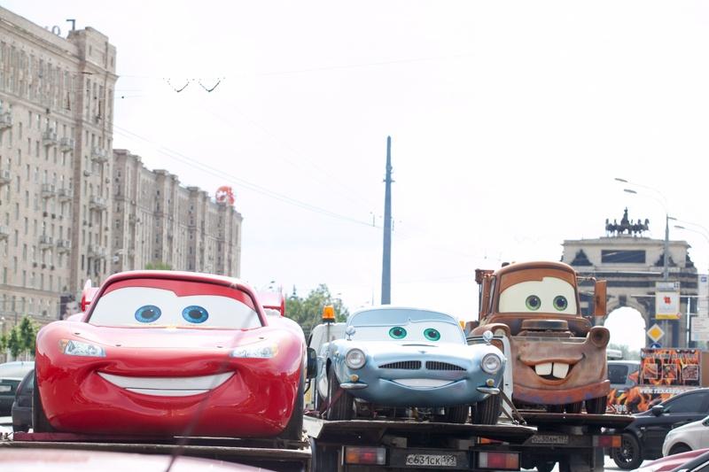 Герои CARS из м\ф