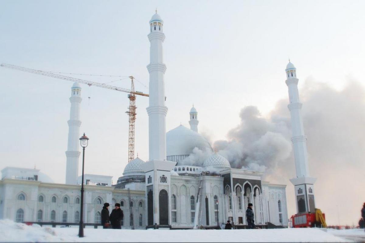 мечеть в астане хазрет султан фото