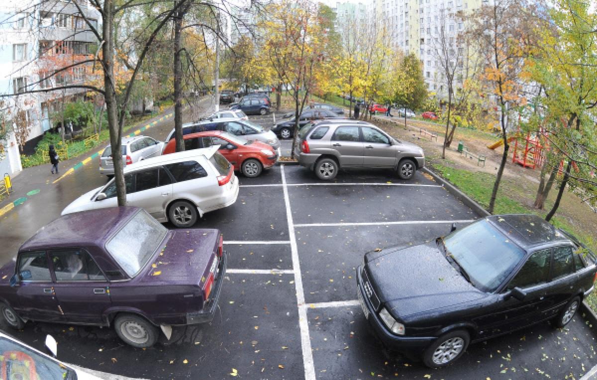 Как сделать придомовую парковку 49