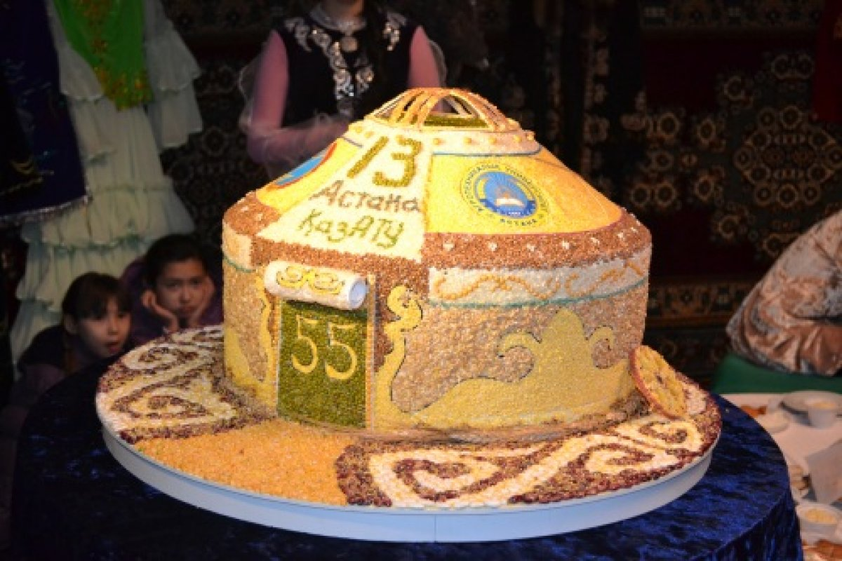 Как будет по казахский торт