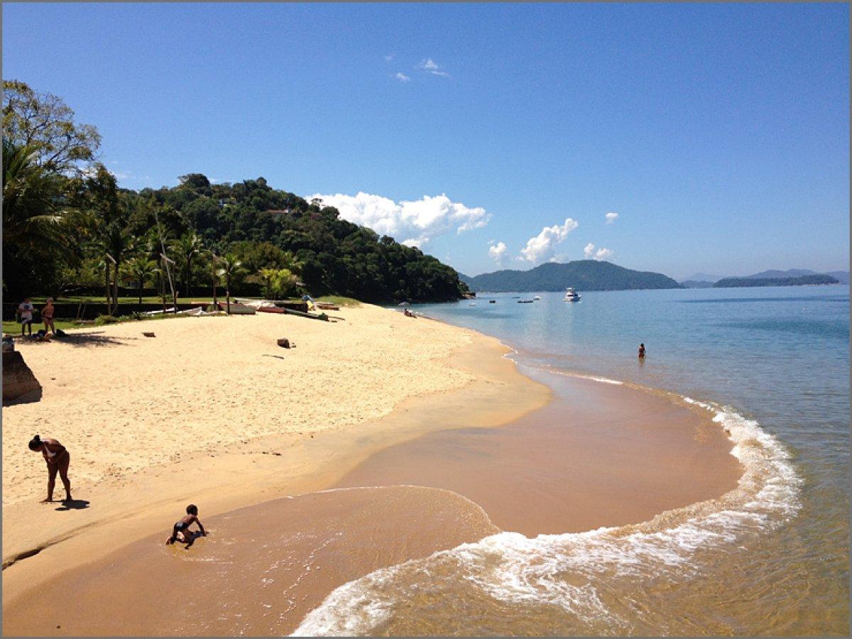 Пляж в бразилии фото