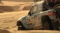 Казахстанские экипажи на ралли-рейде Africa Eco Race-2013. Кадр из промо-видео