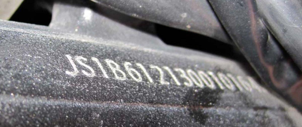 Витебские таможенники обнаружили тягач с измененными VIN ном