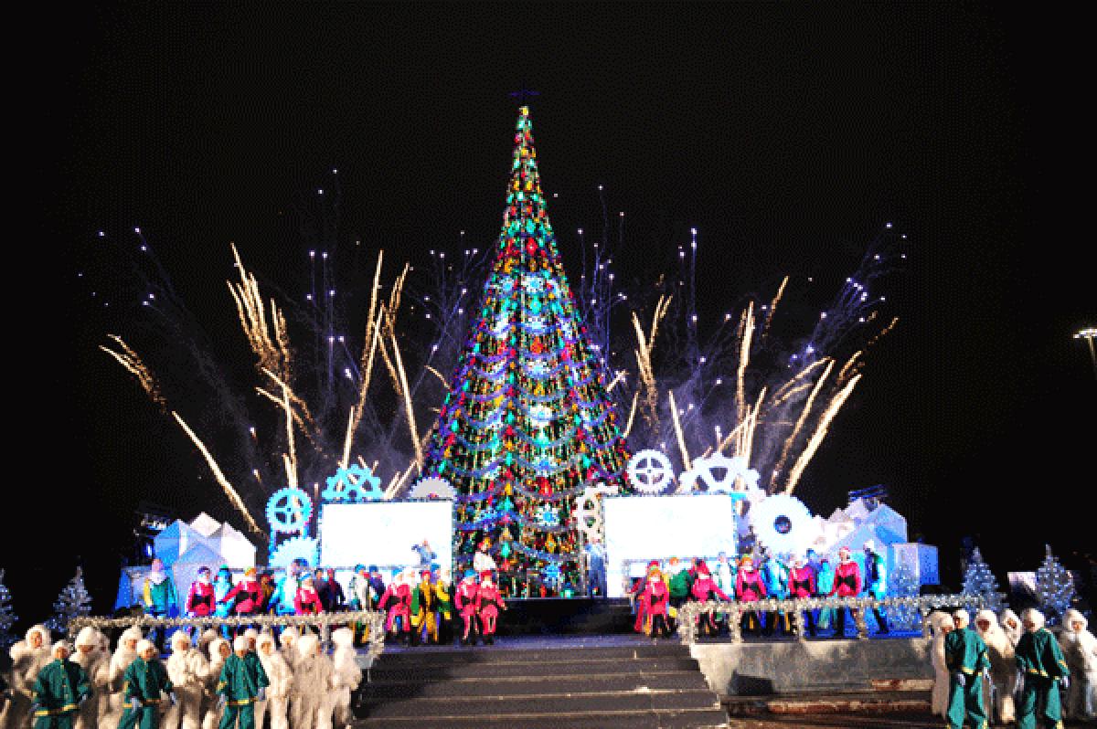 Где встреть новый год в астане